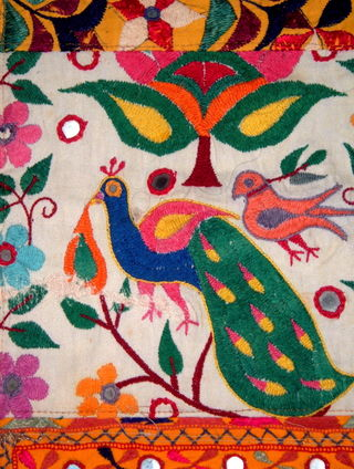 IndianTextile5Peacock